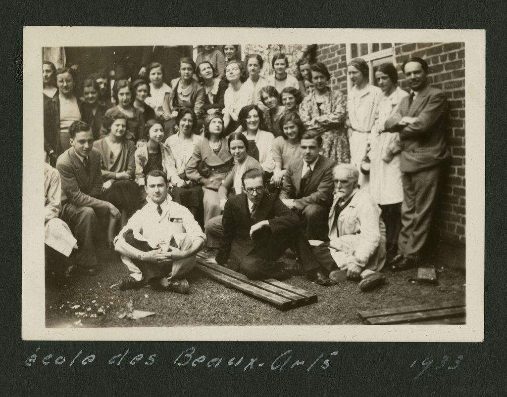 Groupe ÉBAQ 1933