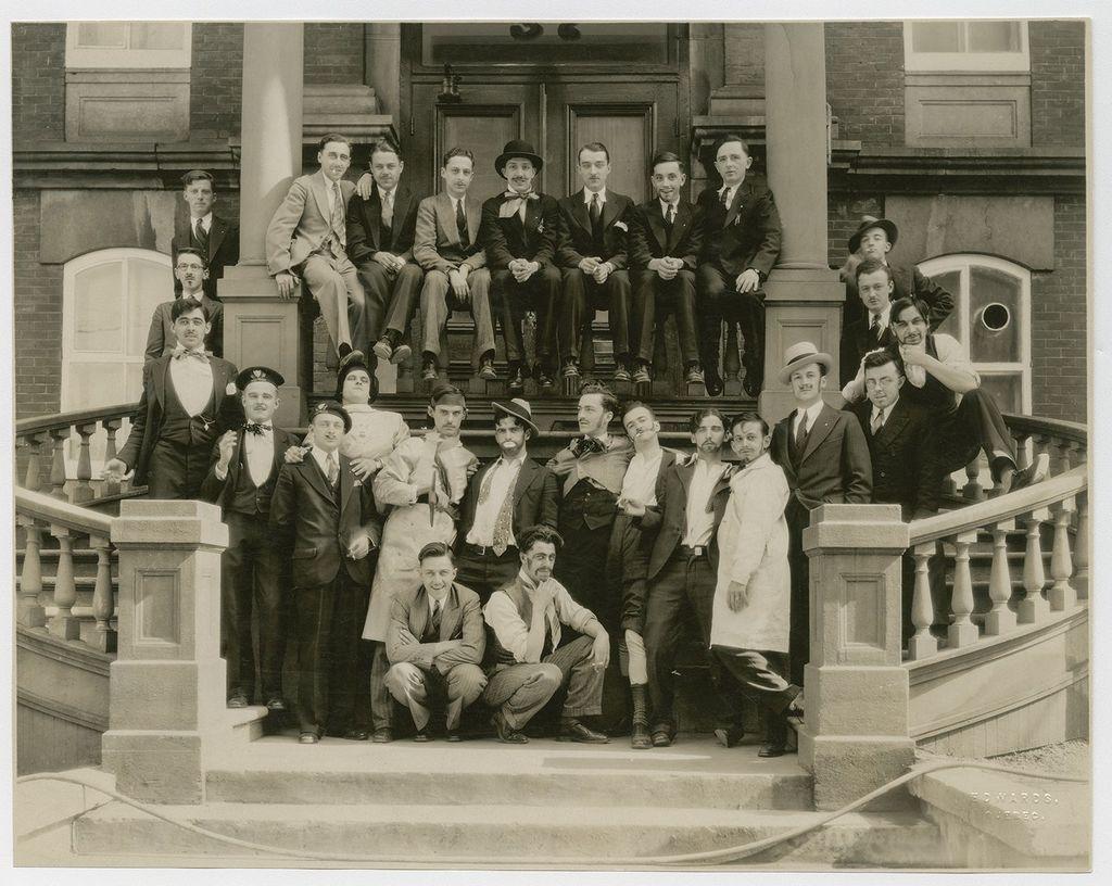 Étudiants ÉBAQ, mai 1931