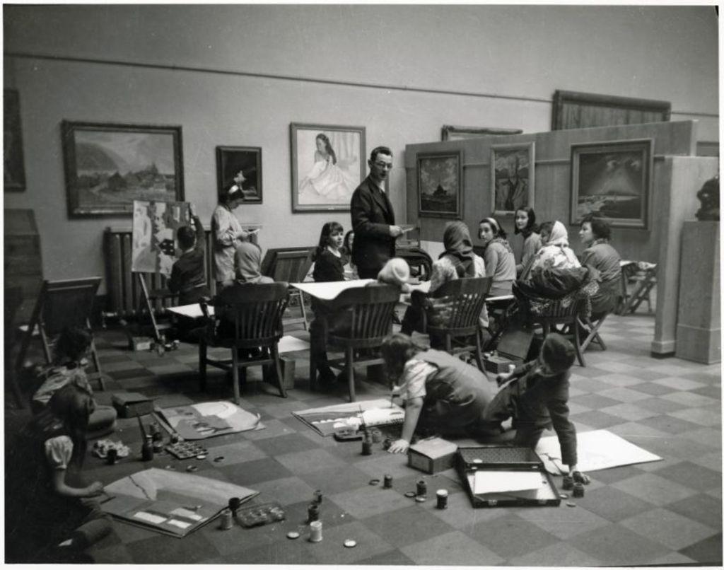 Jean Paul Lemieux, MNBAQ, 1948