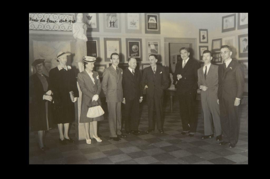 Exposition de l'ÉBAQ au MNBAQ, JUIN 1943