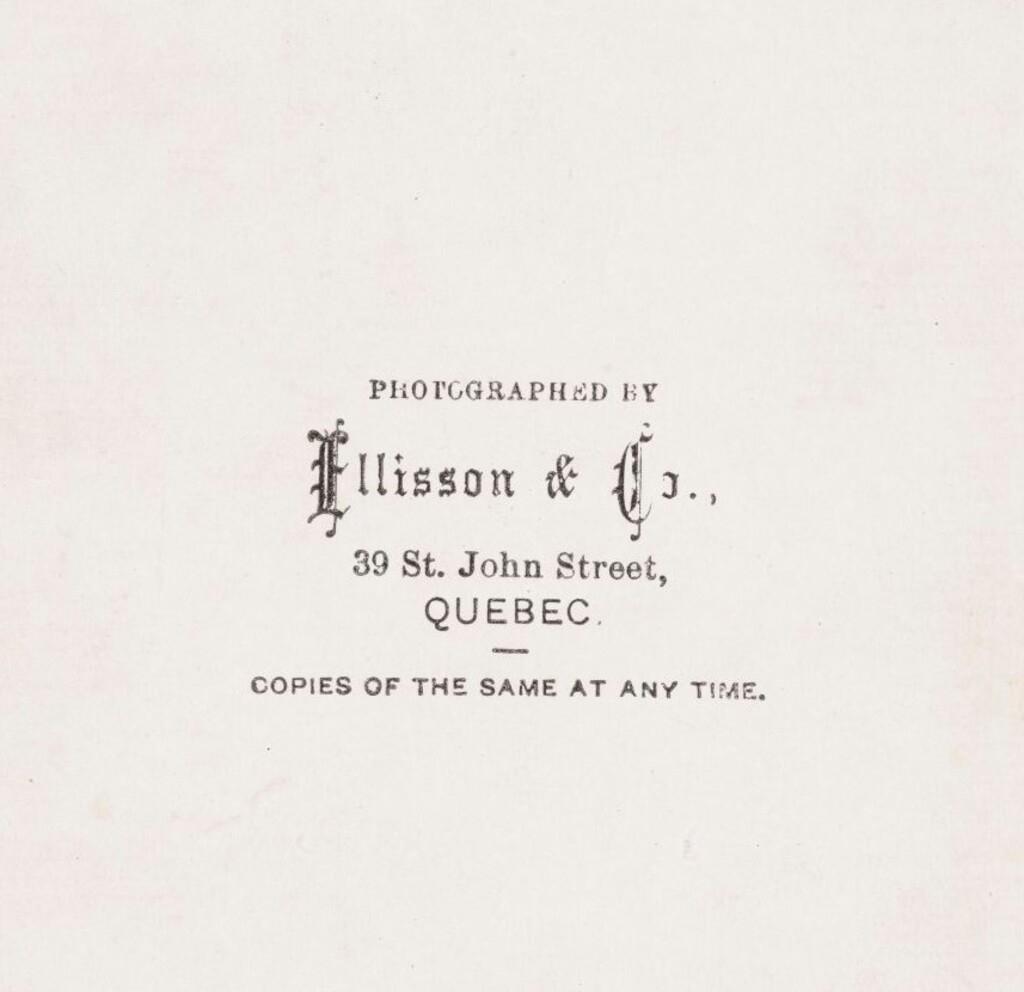 Ellisson & Co. (George William Ellisson)