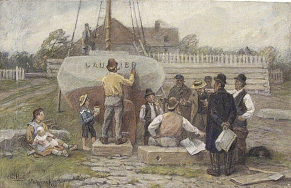 Le Baptême du « Laurier »