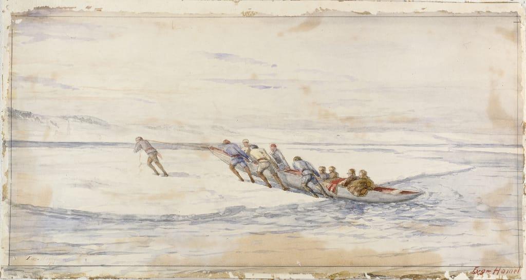Le Transport du courrier entre Québec et Lévis avant 1860. La Traversée de la banquise