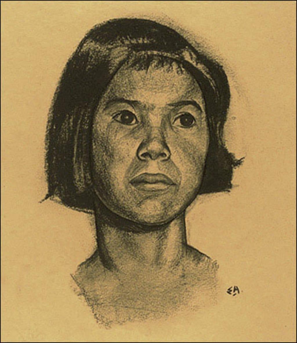 Jeune Femme de la tribu Tsimshian