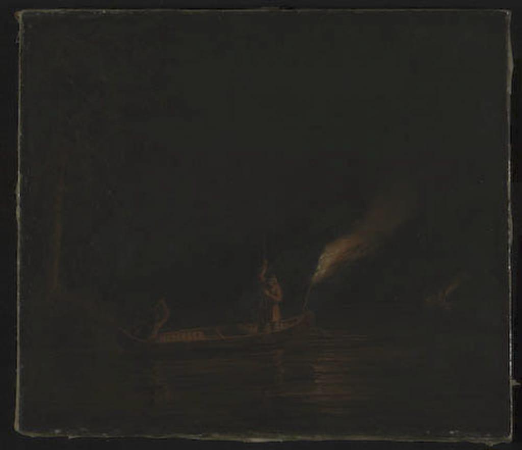 La Pêche au flambeau