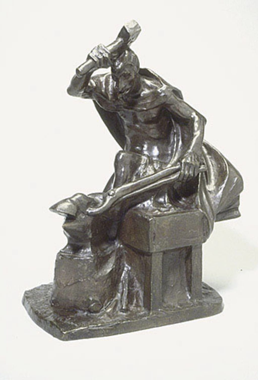 Le Diable aux forges du Saint-Maurice, le dimanche matin, de la série « Métiers, coutumes et légendes d'autrefois »
