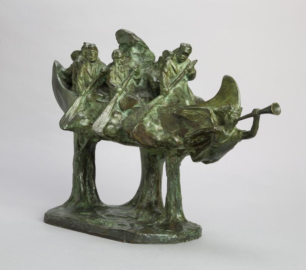 La Chasse-galerie, de la série « Métiers, coutumes et légendes d'autrefois »