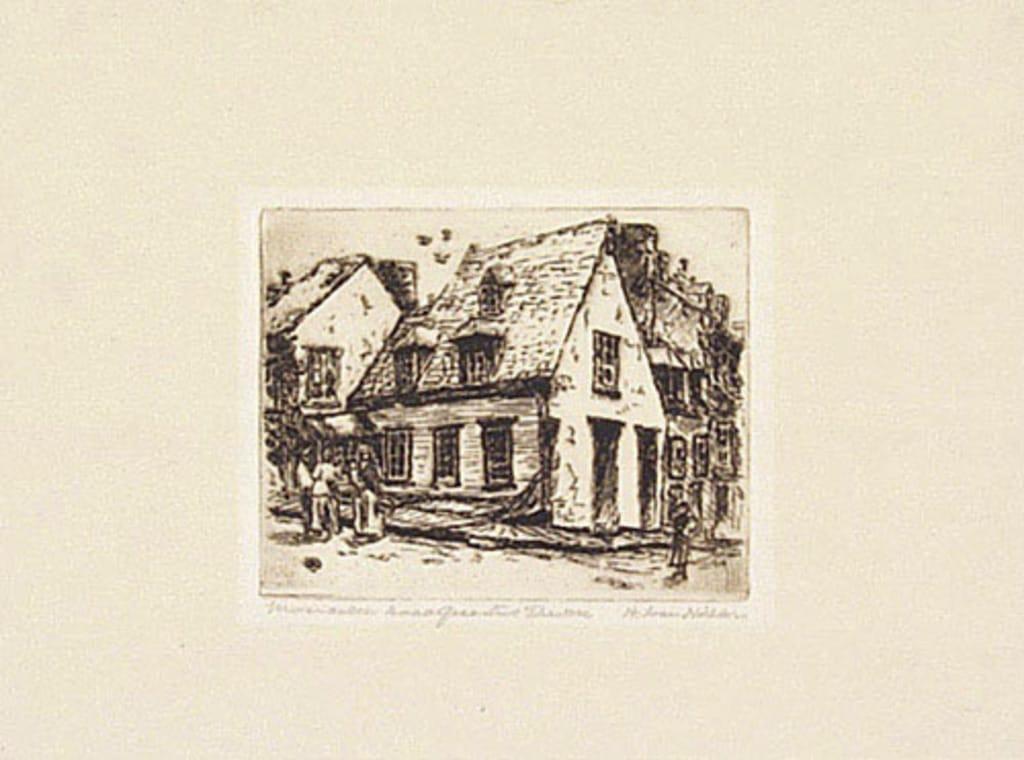 La Maison Jacquet, Québec
