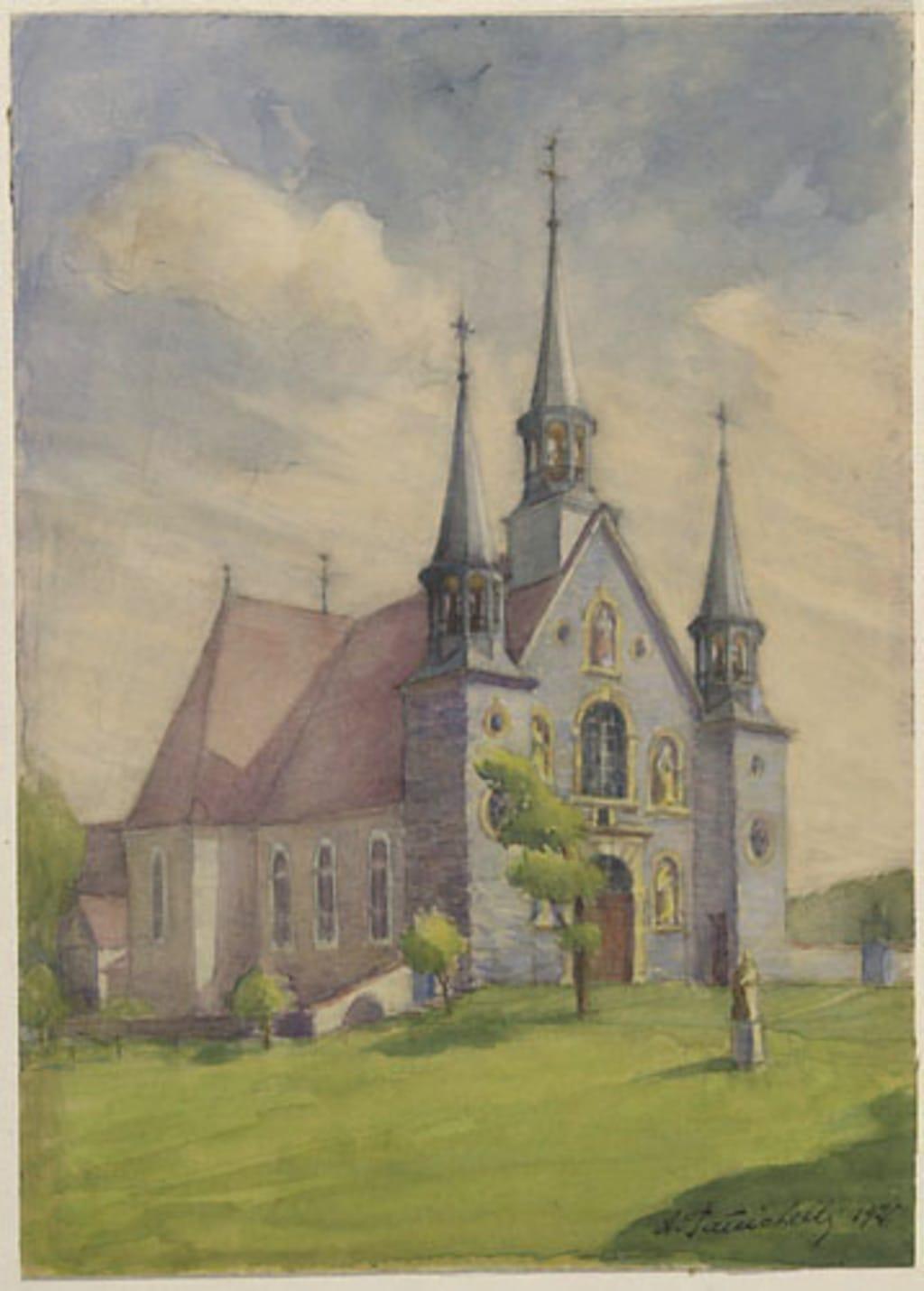 L'Église Sainte-Famille, île d'Orléans
