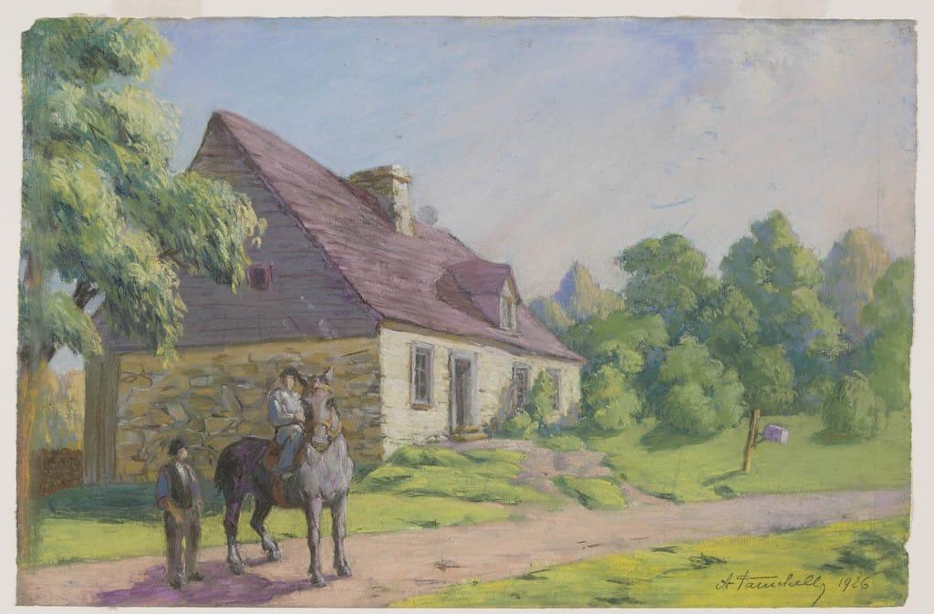 La Maison Drouin, Sainte-Famille, île d'Orléans