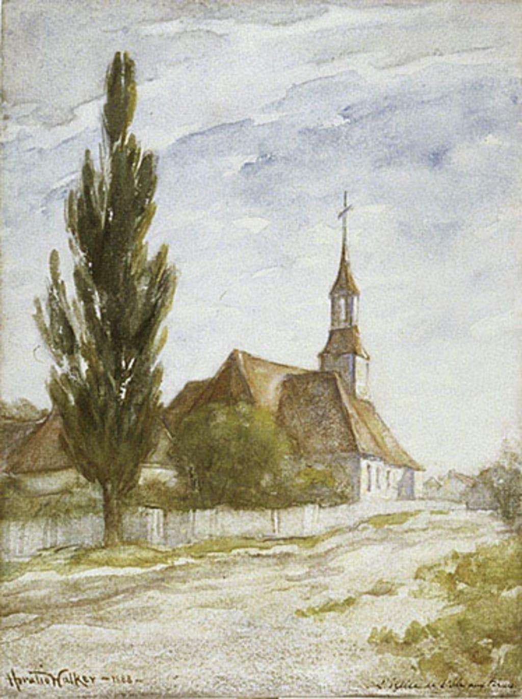 L'Église de Saint-Antoine-de-l'Îsle-aux-Grues