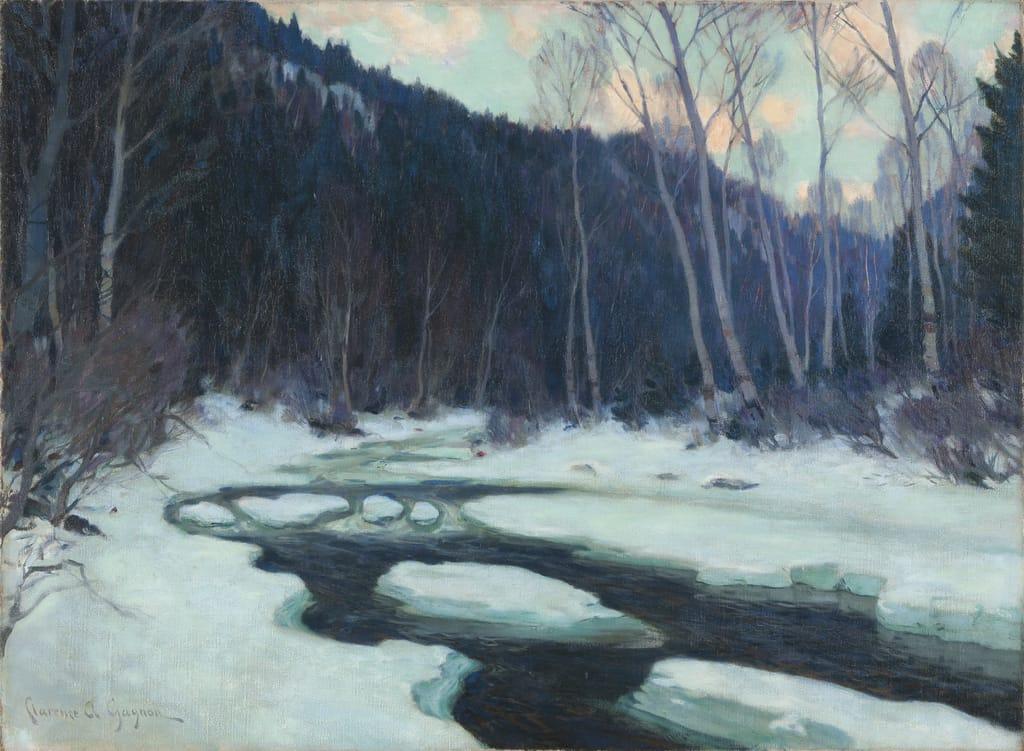 Rivière au dégel