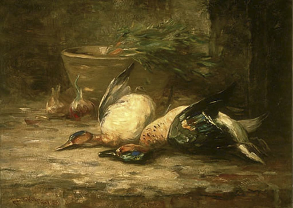 Nature morte aux canards