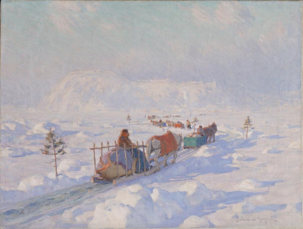 Le Pont de glace à Québec