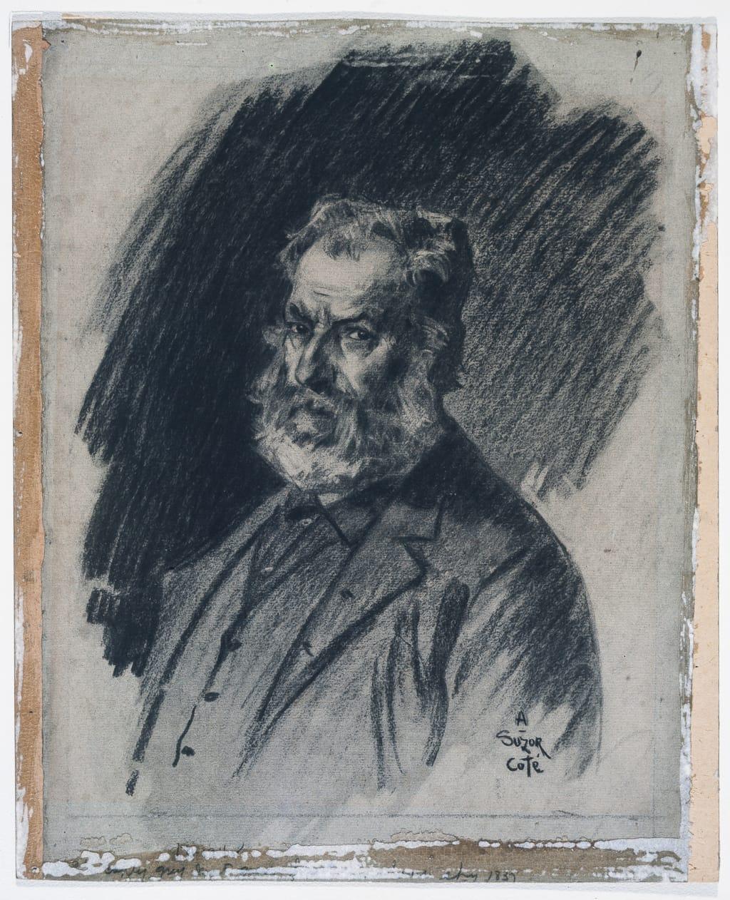 Samuel Chapdelaine. Illustration pour « Maria Chapdelaine » de Louis Hémon