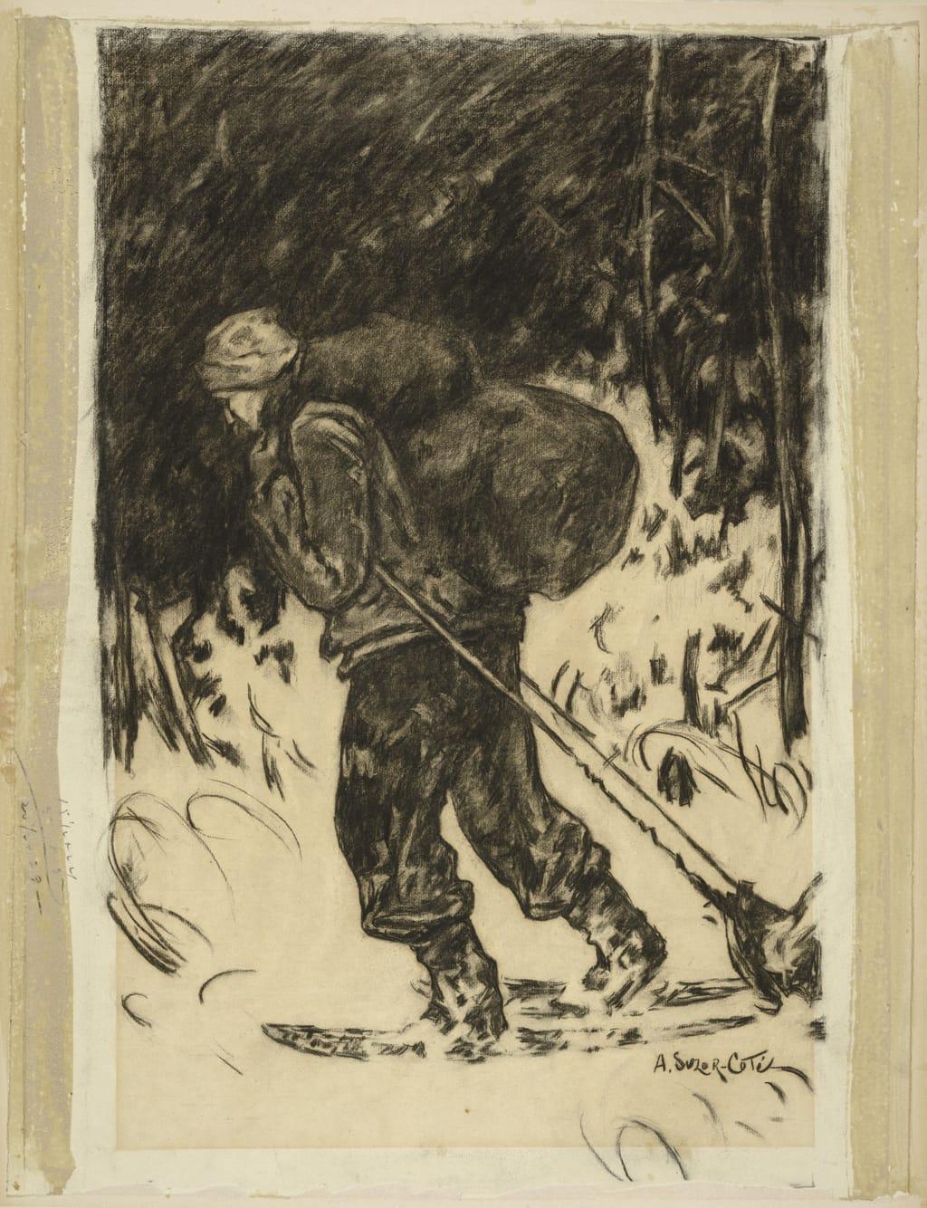 François Paradis. Illustration pour « Maria Chapdelaine » de Louis Hémon