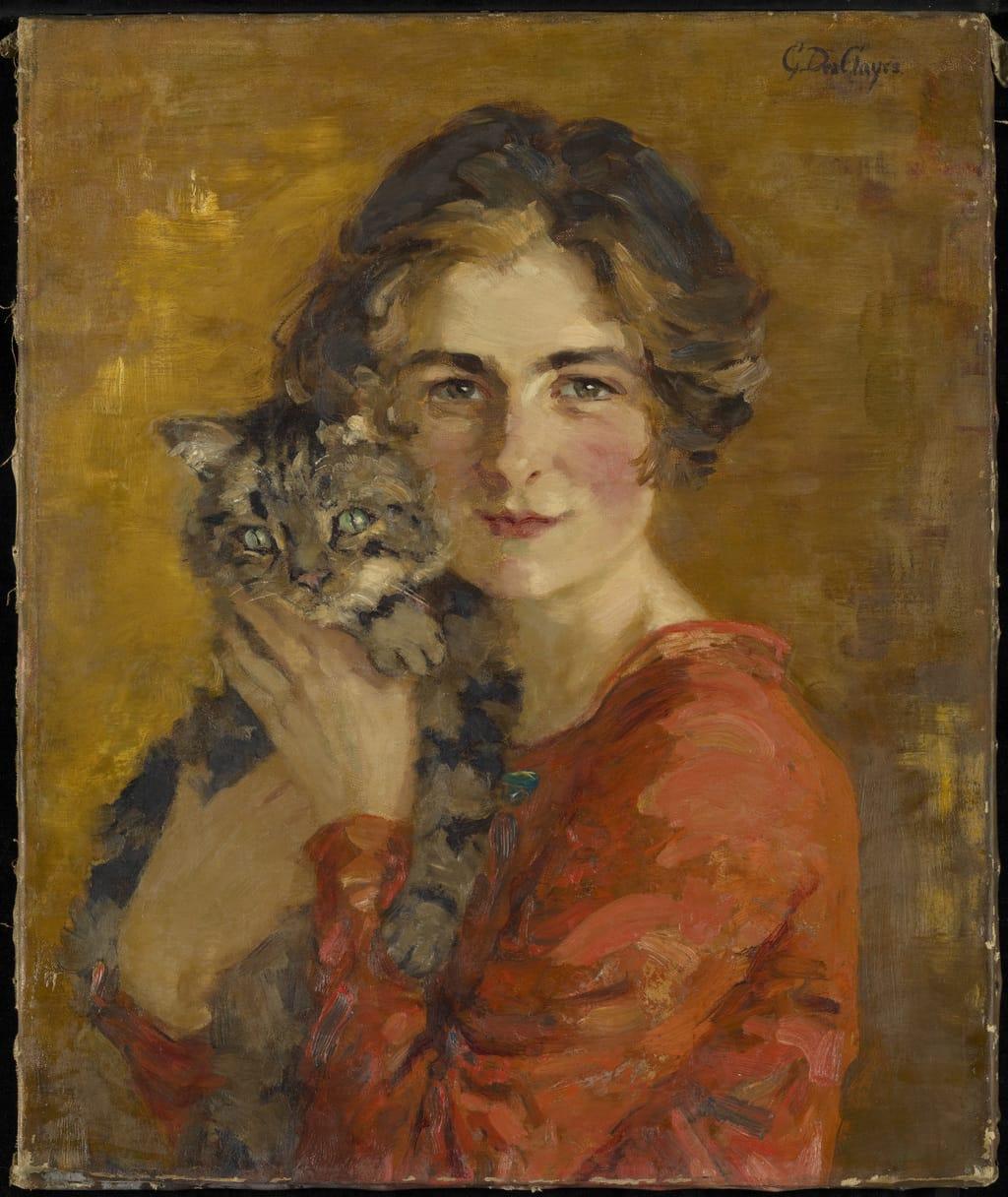La Femme et le chat