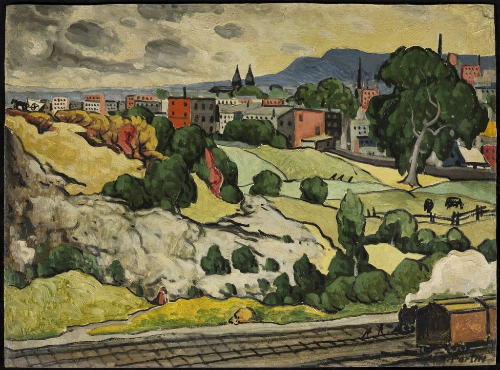 Paysage à Hochelaga