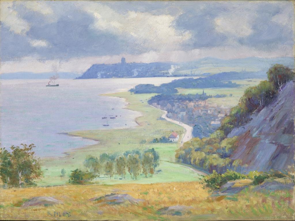 Québec vu de Montmorency