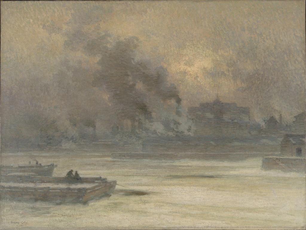 Les Fumées, port de Montréal
