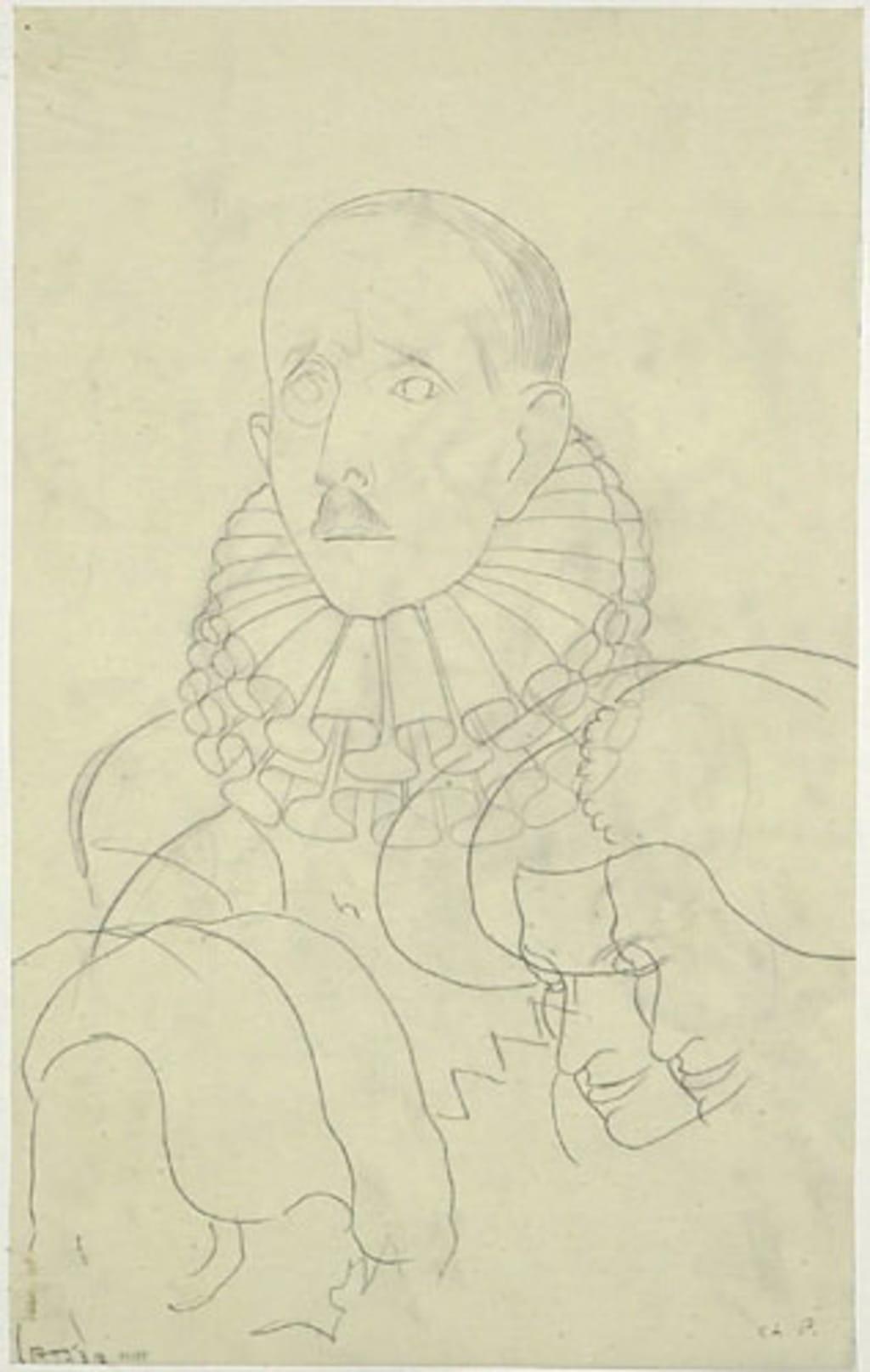 Étude pour « La Cour d'Henri IV »