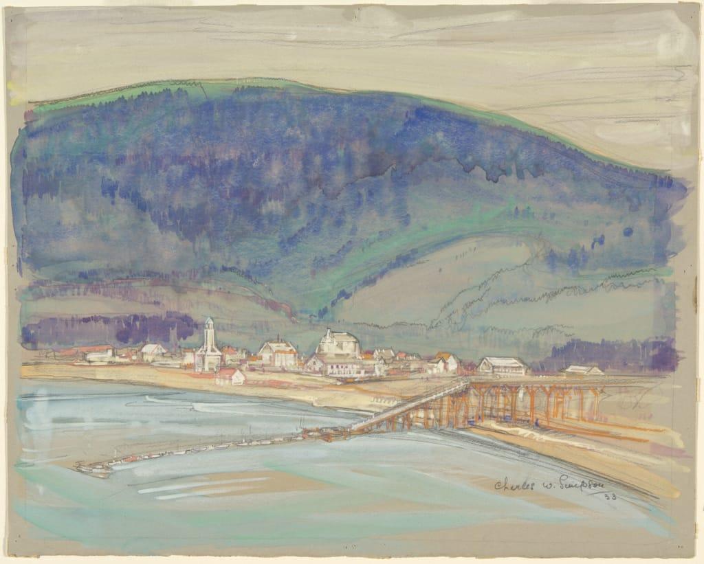 Le Mont-Louis en Gaspésie