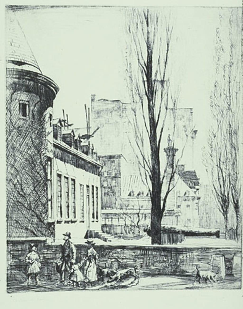 Le Château Ramezay, à Montréal