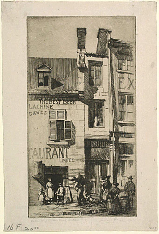 Vieux Édifices de la rue Saint-Paul, à Montréal