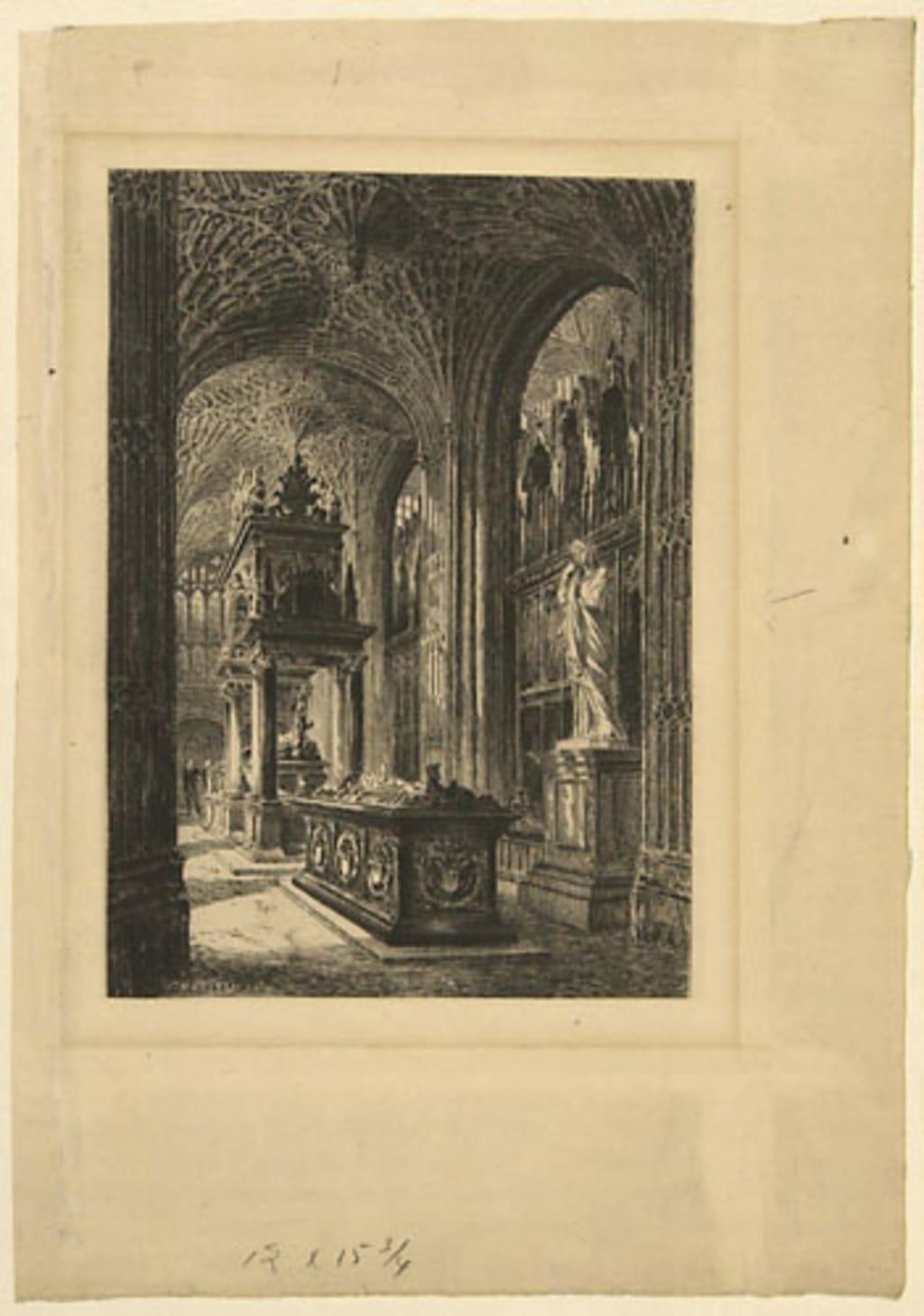 Intérieur de cathédrale