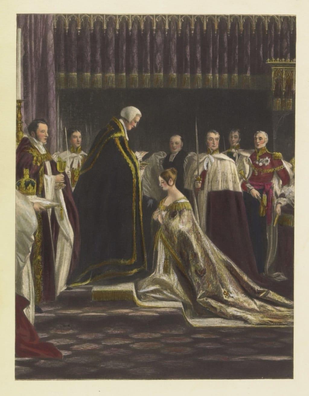Le Sacre de la reine Victoria en 1837