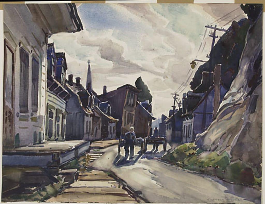 La Rue Champlain, au pied du Cap