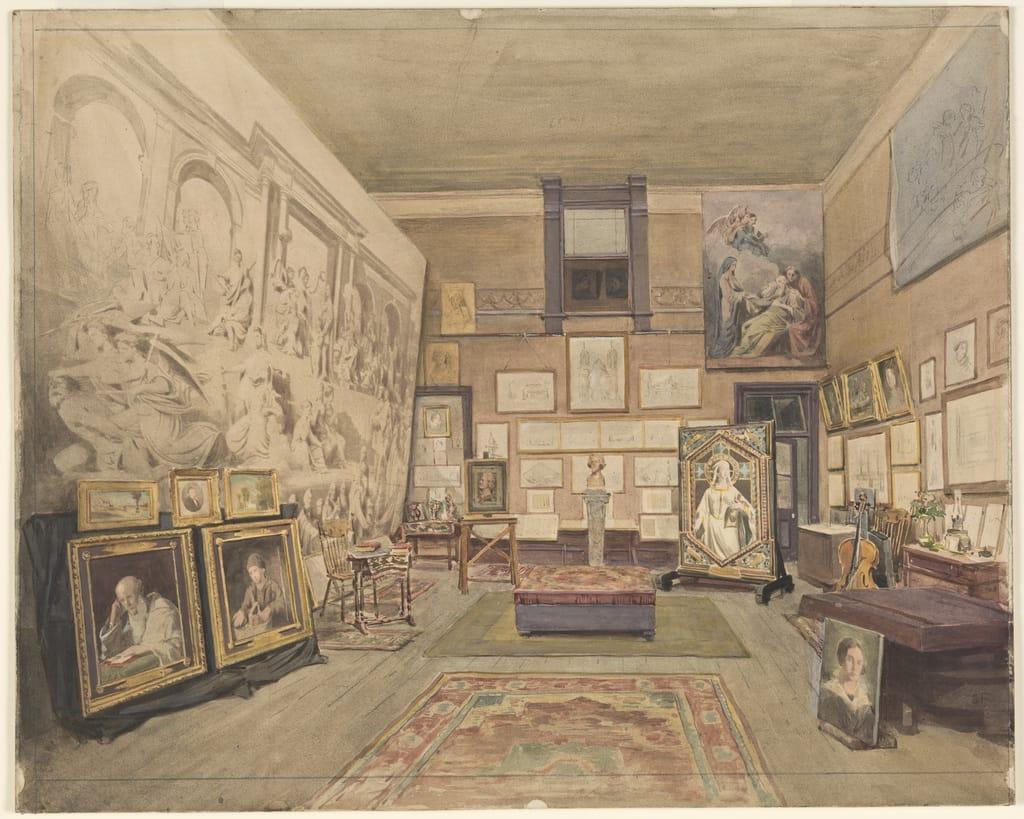 L'Atelier de Napoléon Bourassa, rue Sainte-Julie, à Montréal