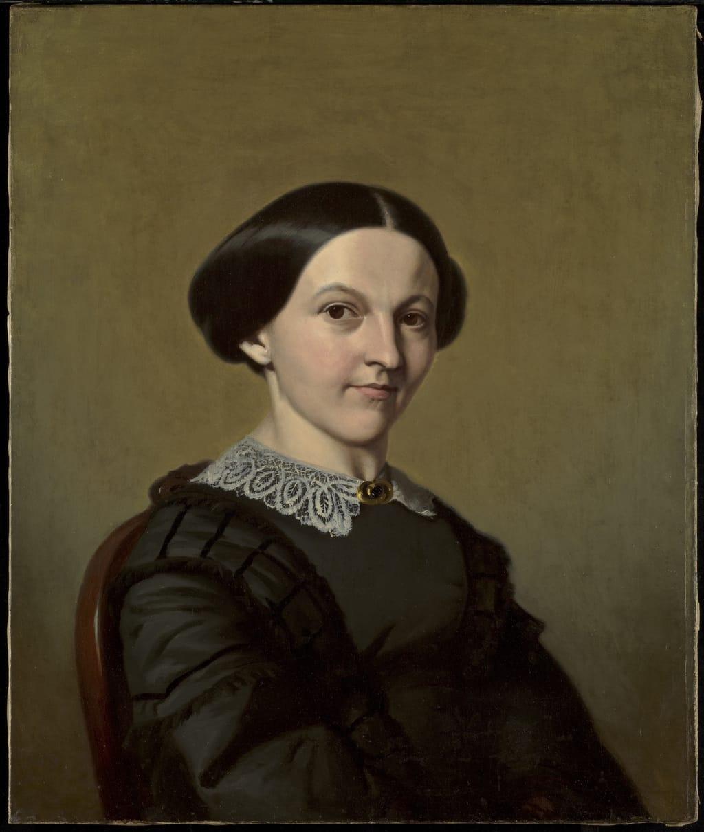 Ézilda Papineau, belle-soeur de l'artiste