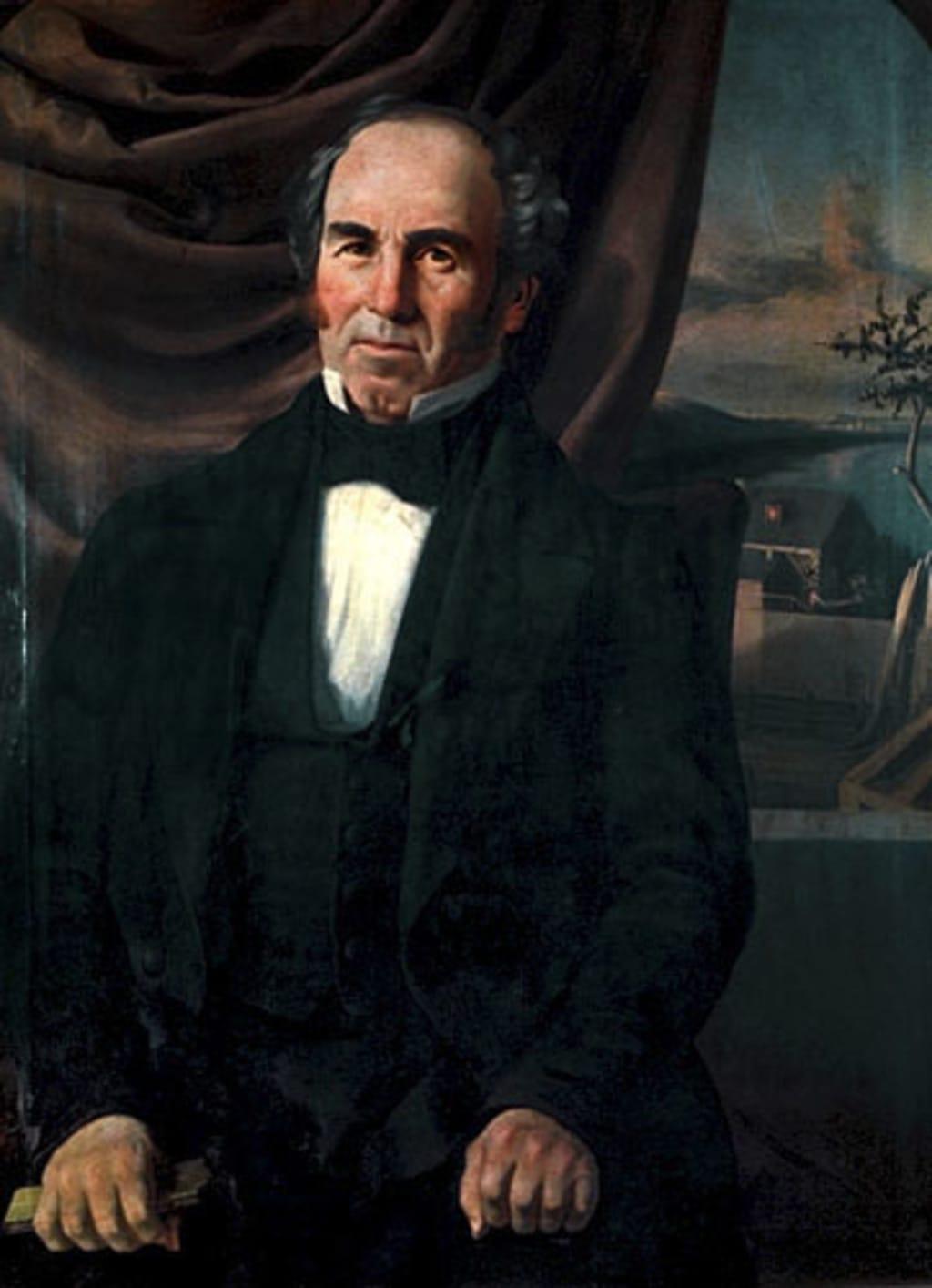 Hippolyte Fissiault dit Laramée, d'après une photographie (?)