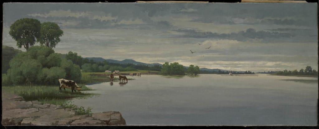 La Rivière des Outaouais à Montebello