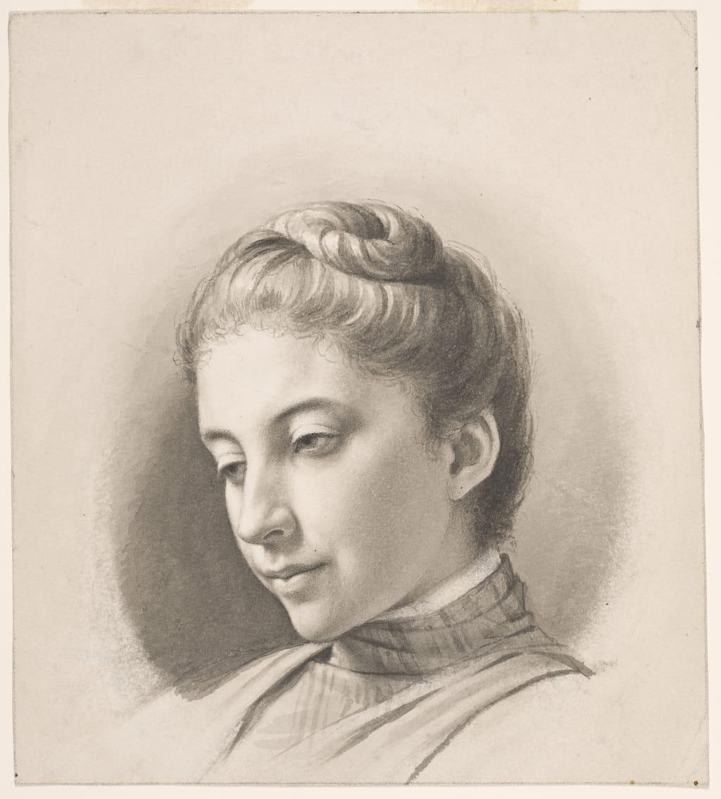 Adine Bourassa, fille de l'artiste