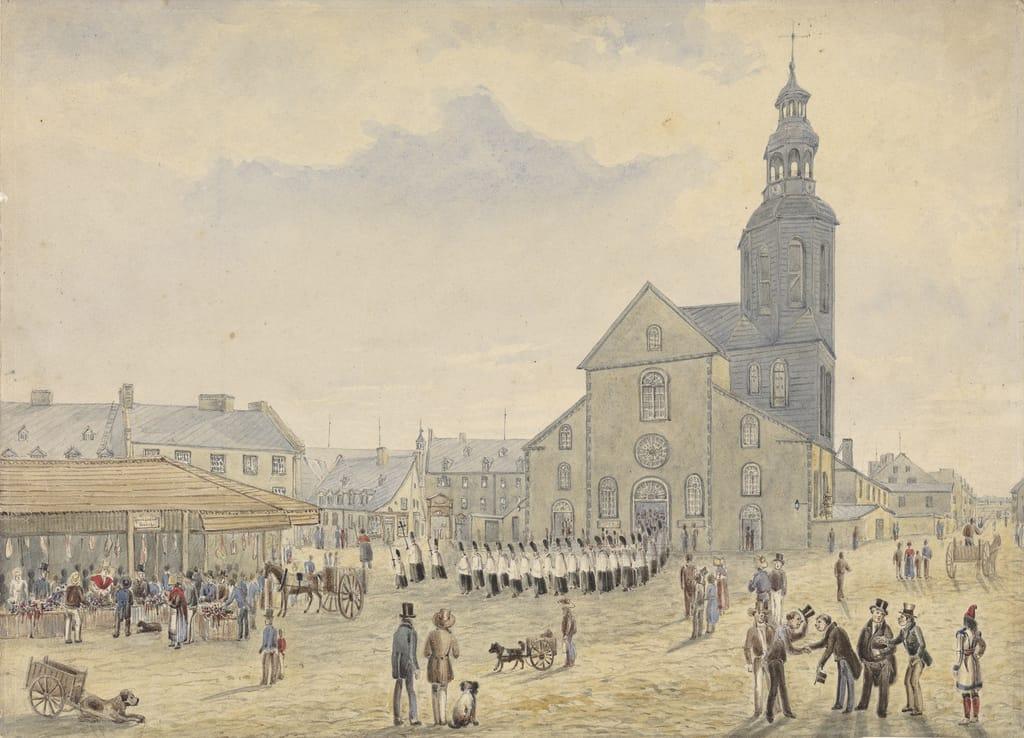 La Place du marché, Québec