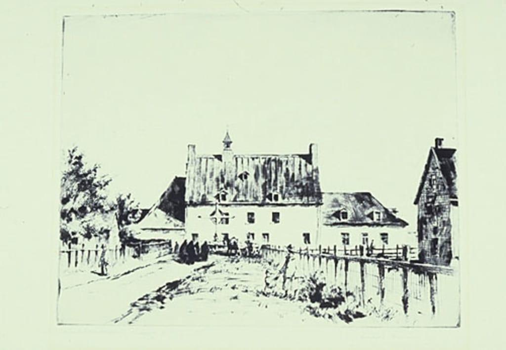 Le Couvent de Marguerite Bourgeoys à Verdun (Ferme Saint-Gabriel)