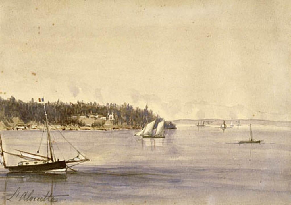« L'Alouette », en face de Cap-Santé
