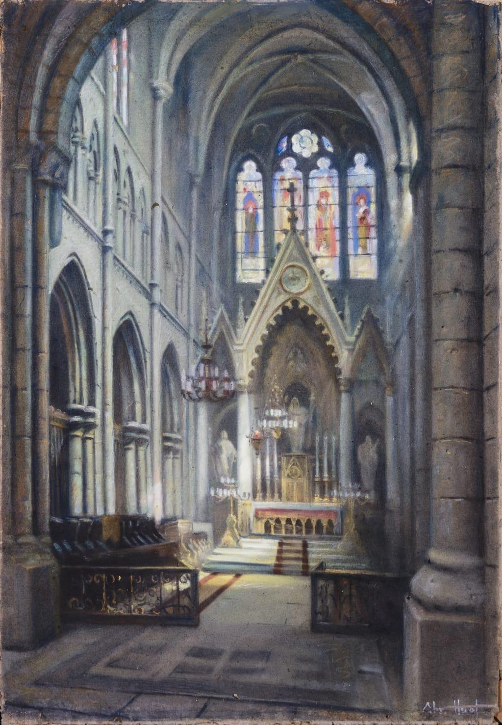 Le Sanctuaire de l'église de Saint-Malo