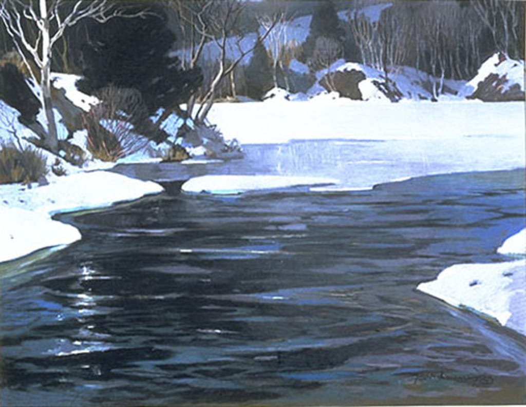 La Rivière Gatineau en mars
