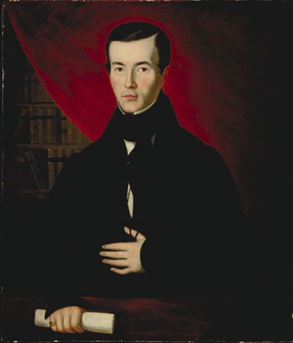Portrait présumé du docteur Charles-Jacques Frémont