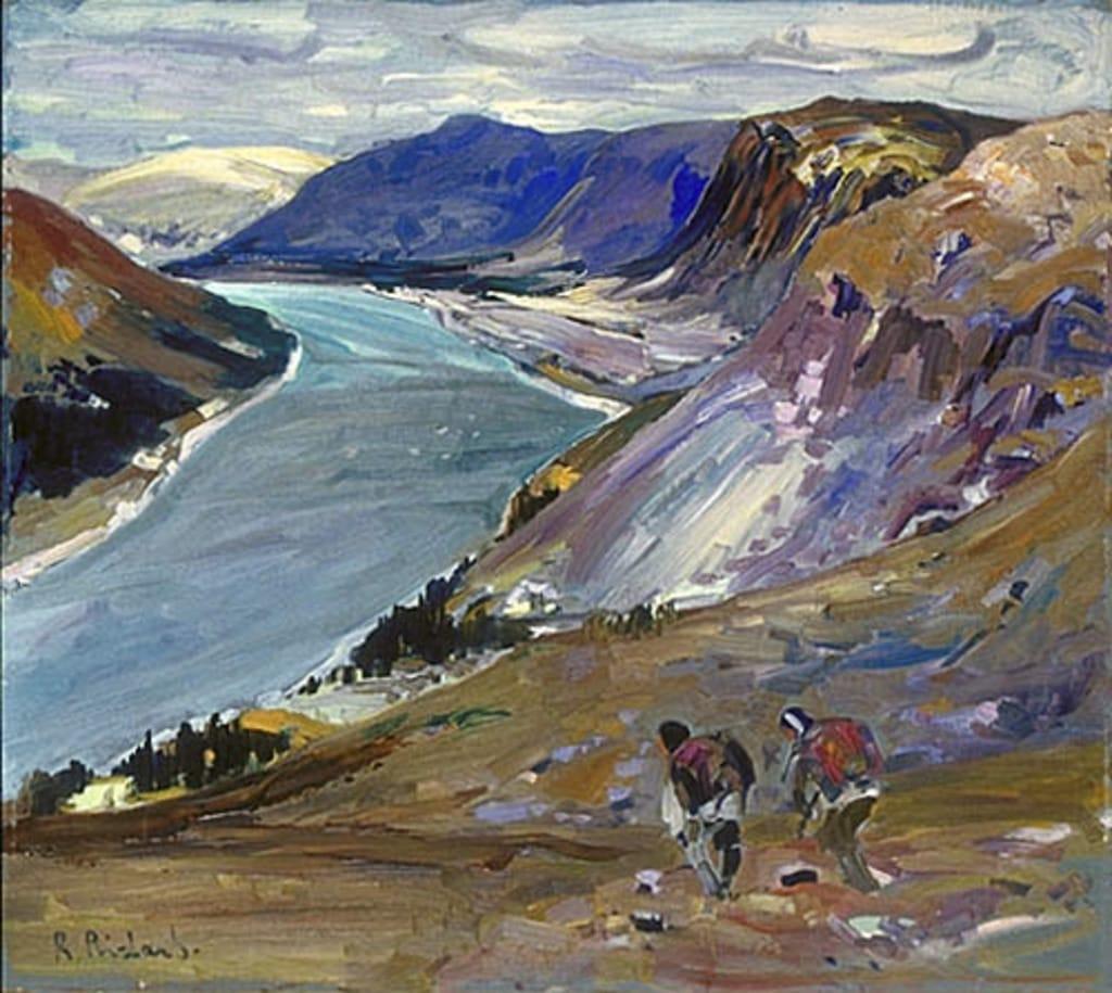 Retour de chasseurs à la Rivière George, Ungava