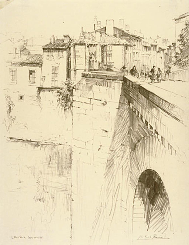 Le Vieux Pont, Carcassonne (France)