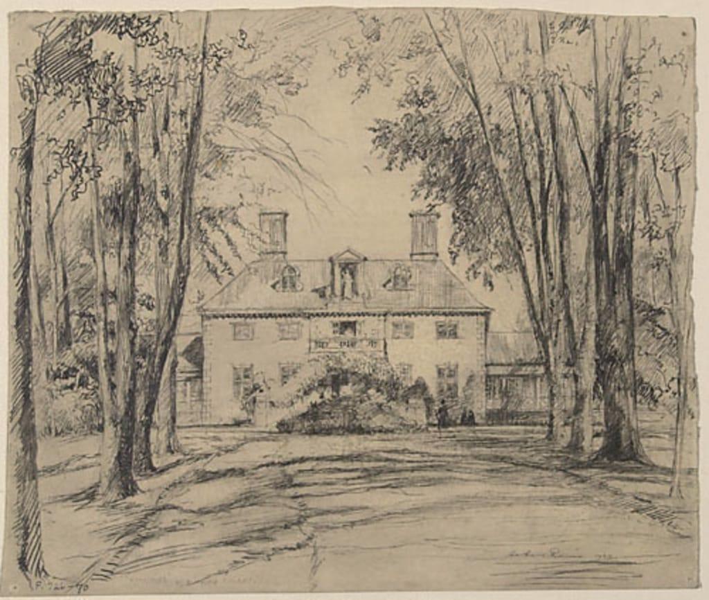 Le Couvent de Villa Maria, à Montréal (aussi connu sous le nom de «Monklands»)