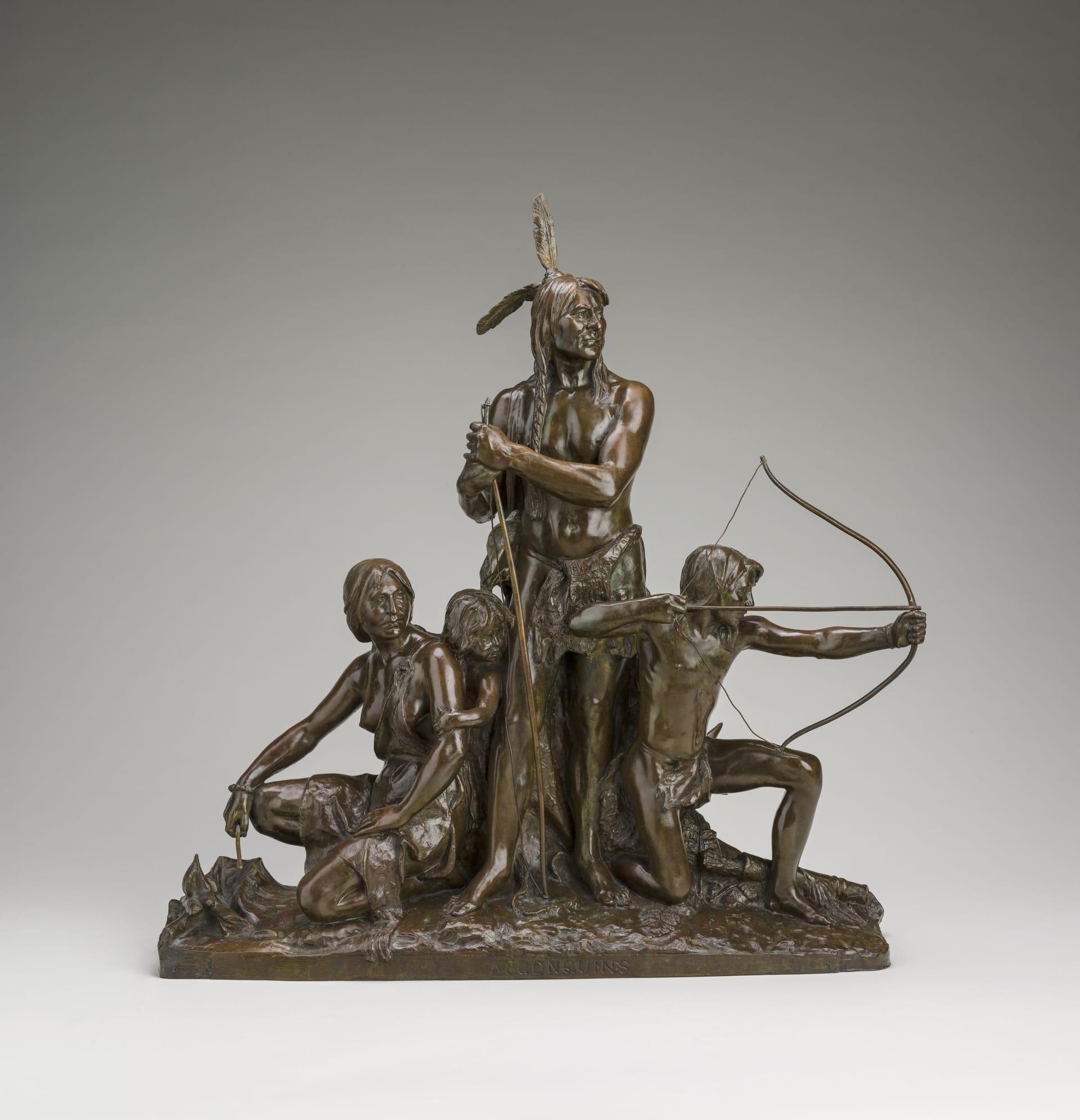Algonquins - Hébert, Louis-Philippe | Collections | MNBAQ ...
