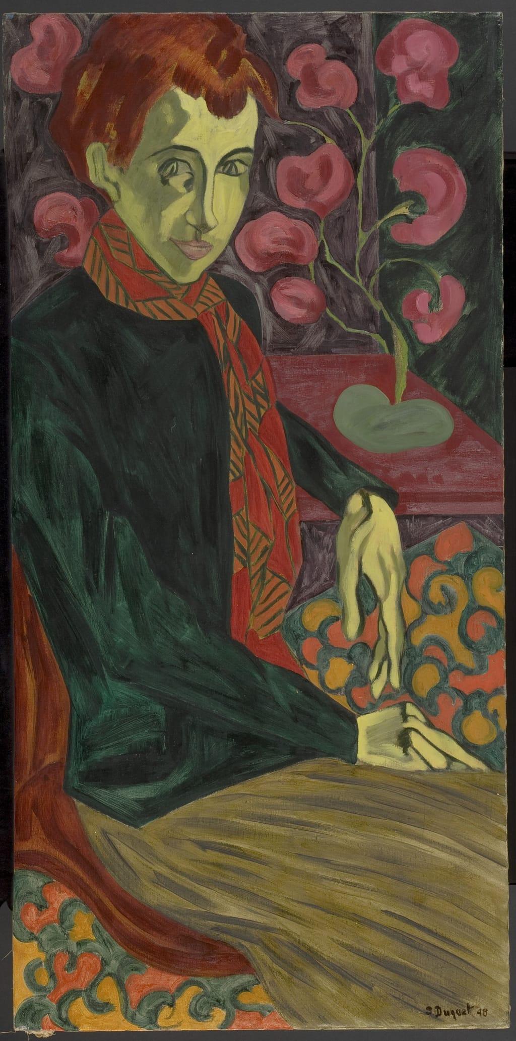 La Femme au tapis