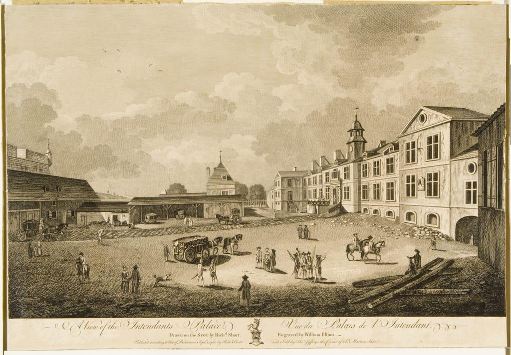Vue du Palais de l'Intendant