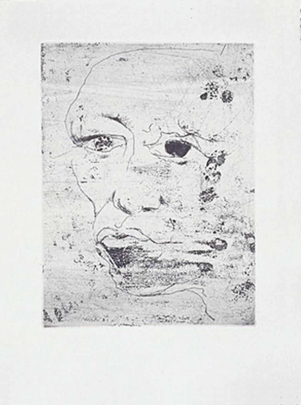 Sans titre, du livre d'artiste «Ô visages»