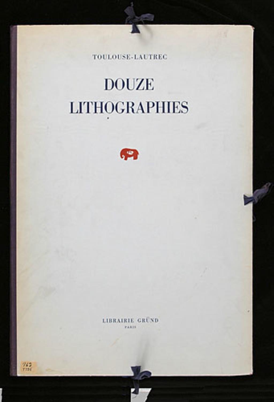 Toulouse-Lautrec, douze lithographies